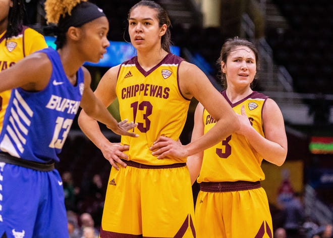 Reyna Frost and Presley Hudson will watch the WNBA Draft on Wednesday night.