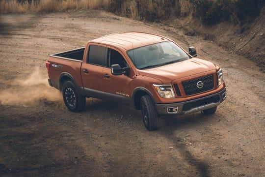 The 2019 Nissan Titan.