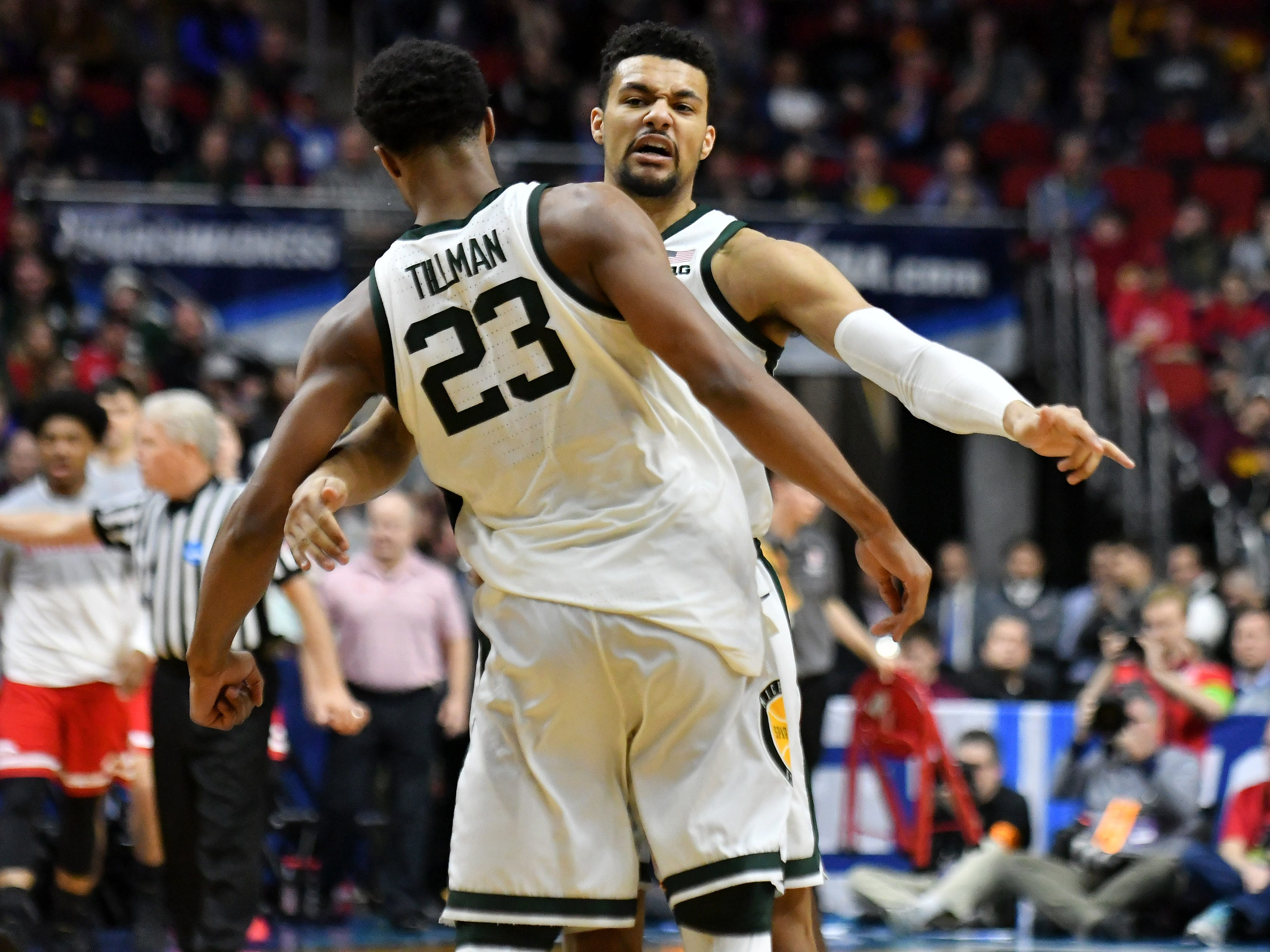 No panic: Bradley puts Michigan State on upset alert but Spartans survive