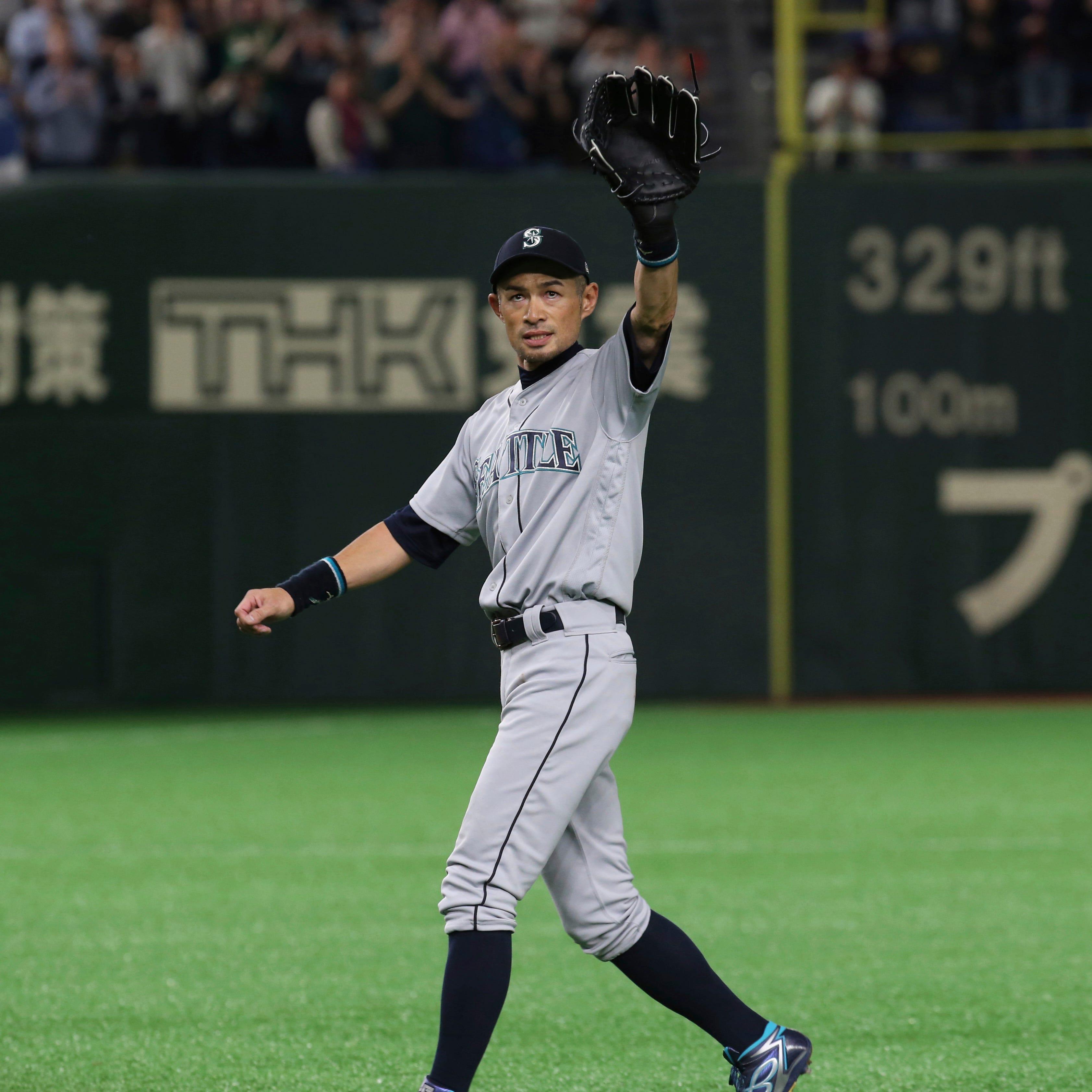 Watch: In Tokyo, retiring Ichiro Suzuki leaves field for final time