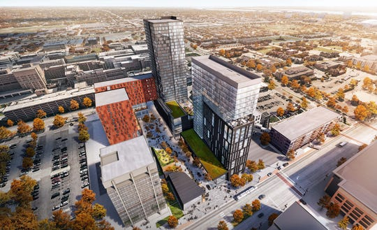 The Mid will have 60 high-end condominiums, 250 multi-family residences and about 200 co-living units, according to developers.