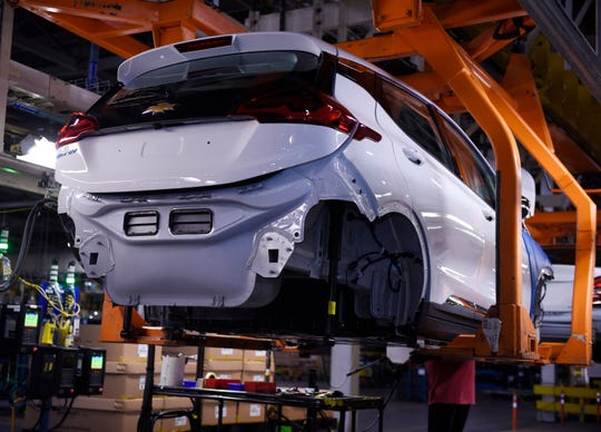 GM plans to announce an investment at its Orion Assembly Plant, where it builds the Chevrolet Bolt EV and Chevrolet Sonic.
