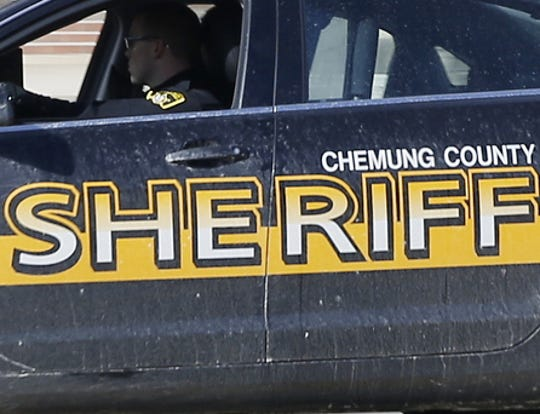 Chemung County sheriff cruiser