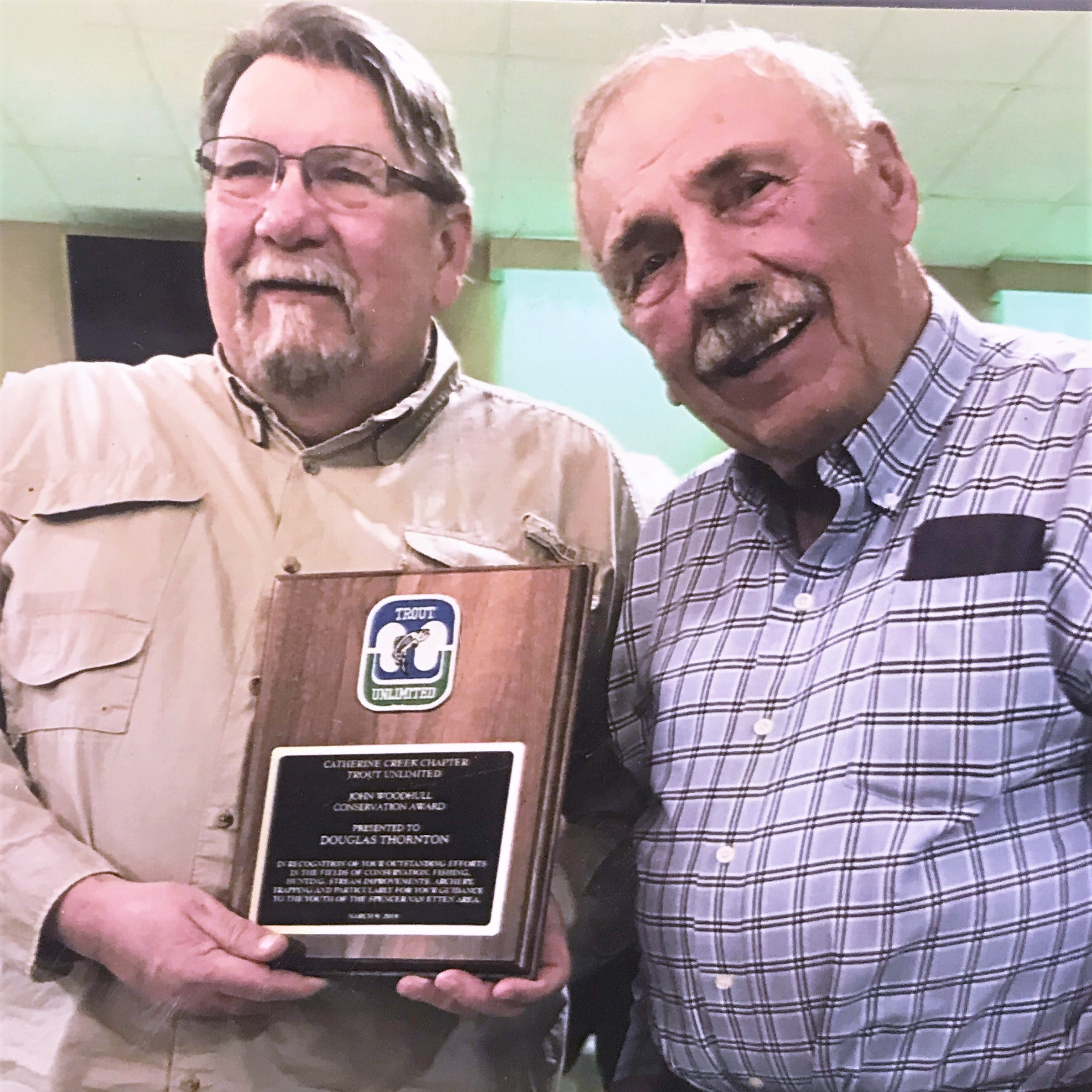 Local Trout Unlimited chapter presents conservation award