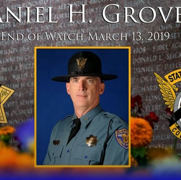 Watch live: Service honors Colorado State Patrol corporal killed in bomb cyclone blizzard