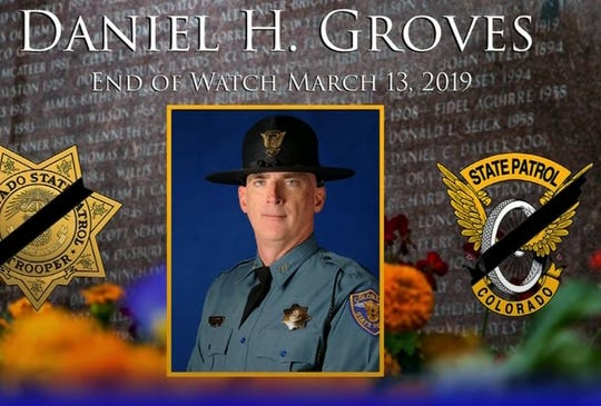 CSP Trooper Daniel Groves was killed in the bomb cyclone blizzard
