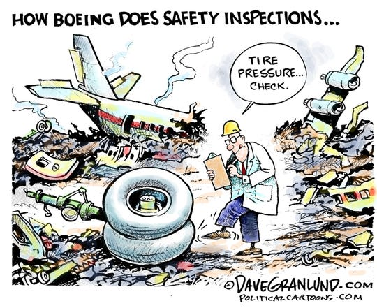 Boeing safety inspections