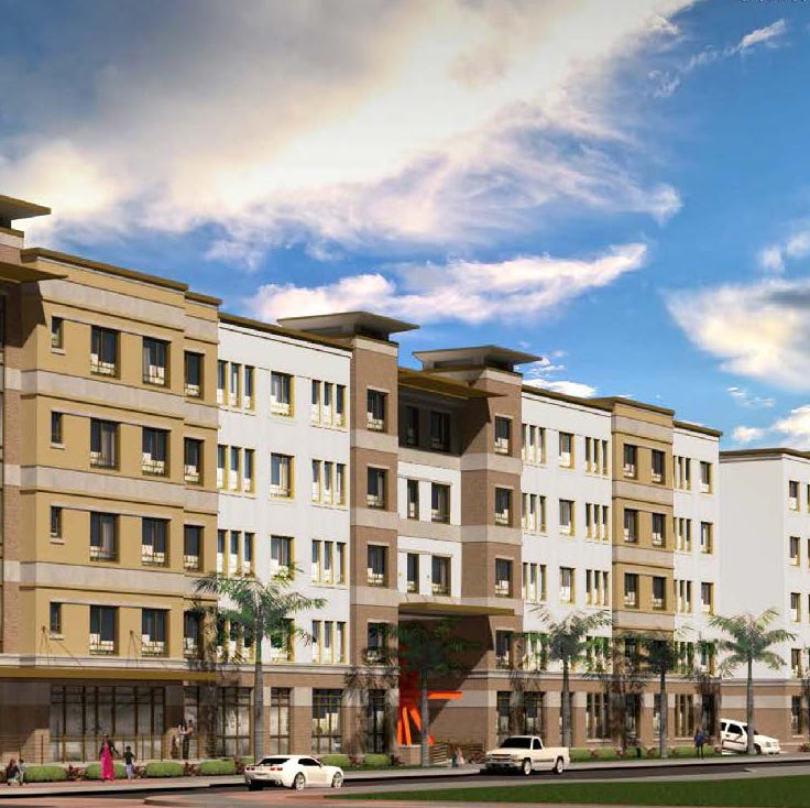 Coming to downtown Fort Myers: New upscale apartment building on First Street
