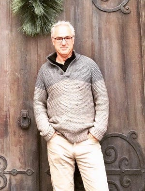 """Mark Brown is the playwright of a new comedy-caper, """"The Gentleman Thief,"""" which will be presented as a reading by Peninsula Players Theatre on April 1."""