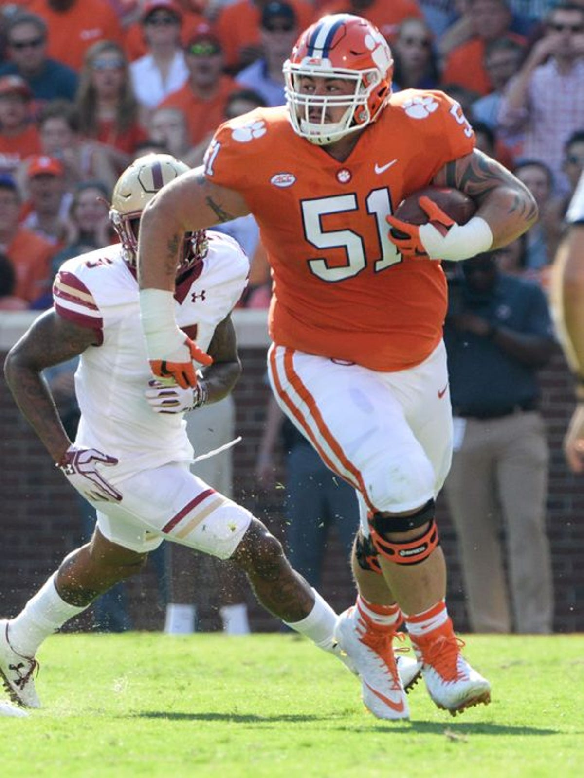 promo code 40ab0 175f2 Former Clemson lineman Taylor Hearn apologizes for street fight