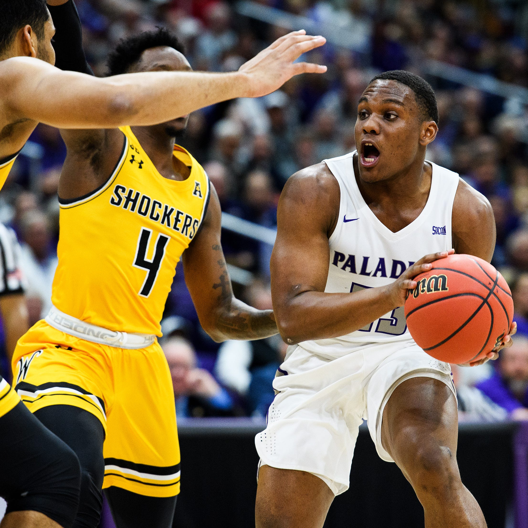 Furman basketball's dream season ends in thrilling NIT bout with Wichita State