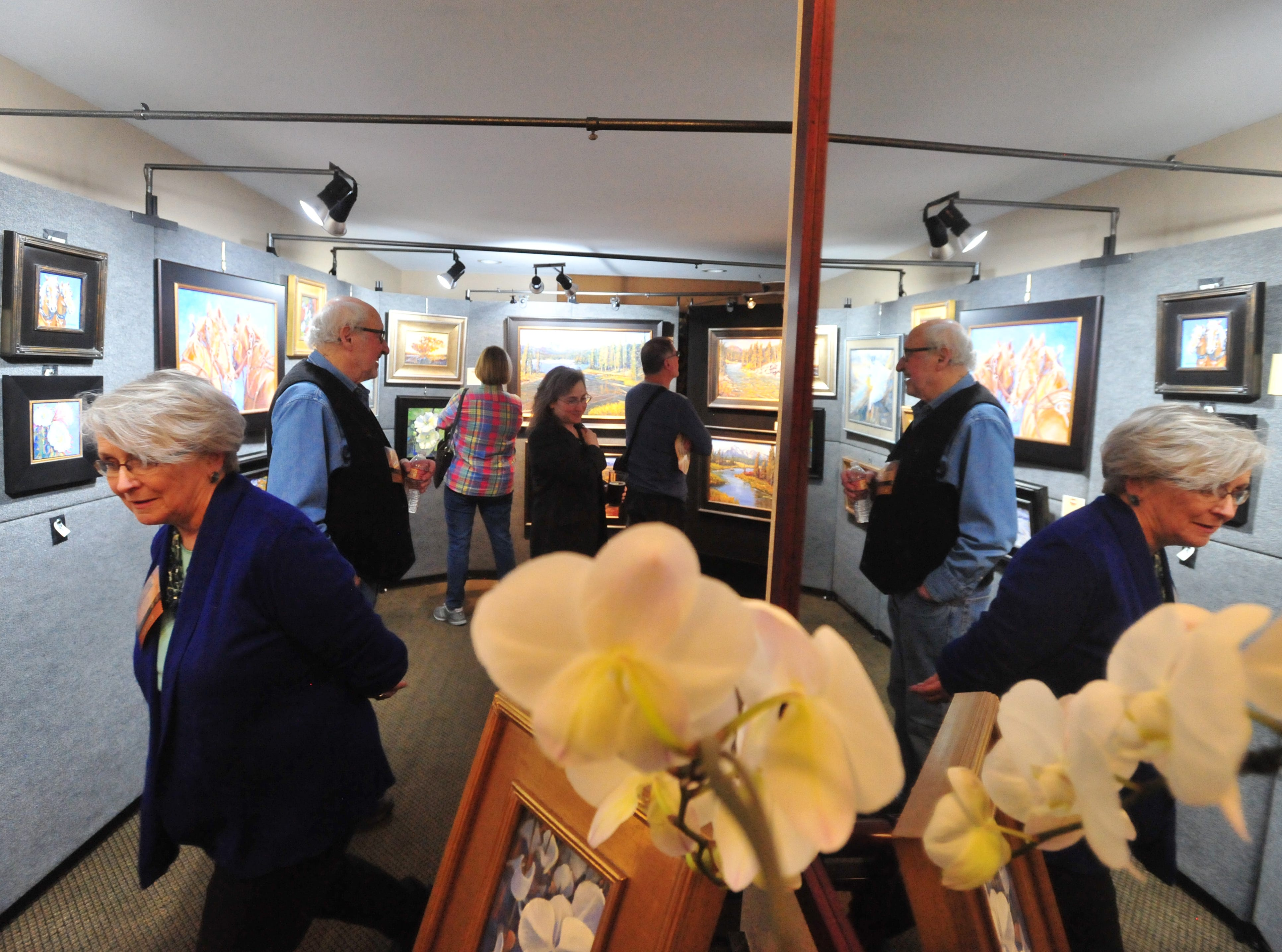 The Out West Art Show at the Heritage Inn runs Thursday through Saturday.
