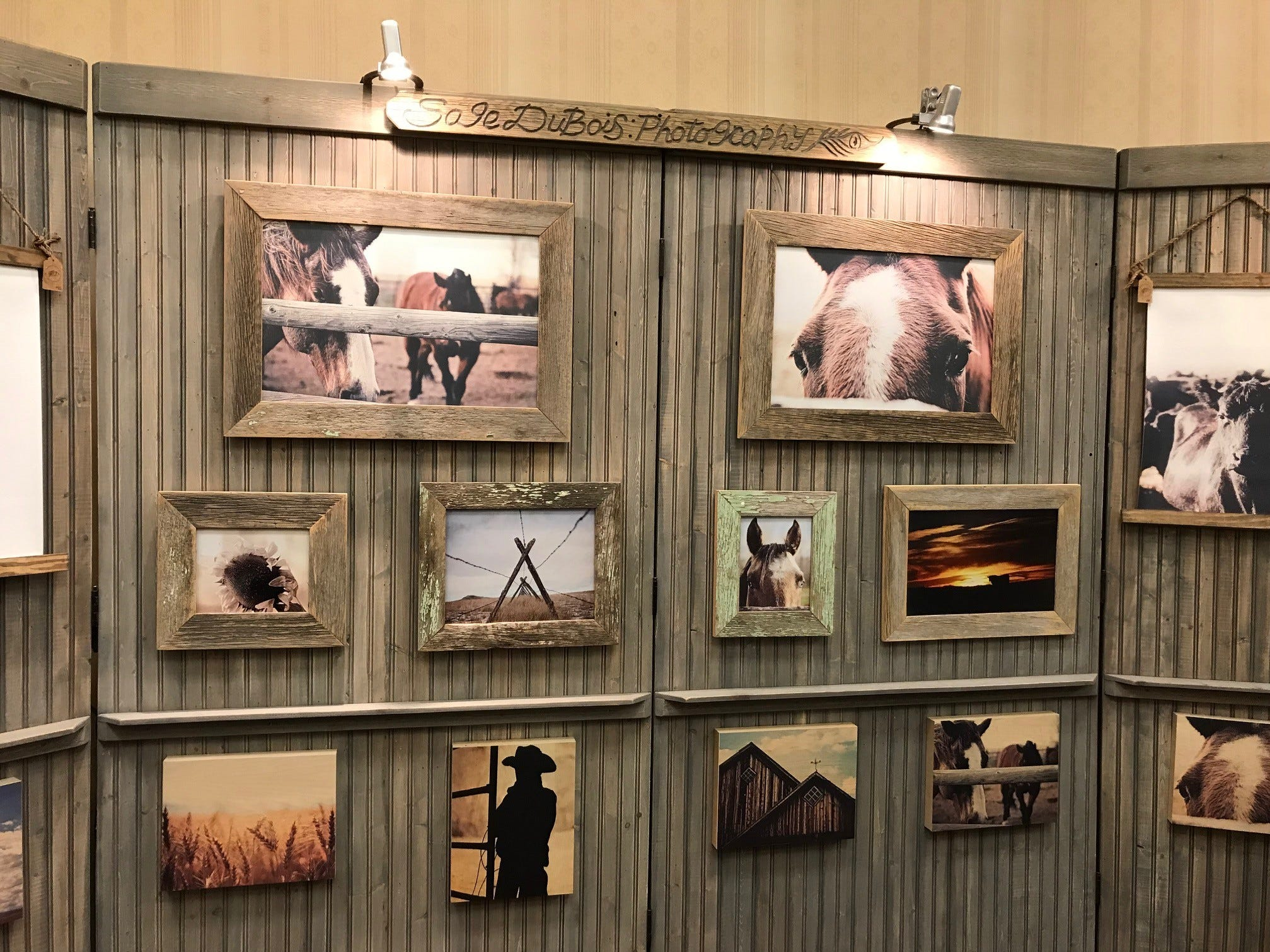 Sage DuBois's photography has a dreamy appeal. It's on display during Western Art Week at the Jay Contway Show at the Hilton Garden Inn.