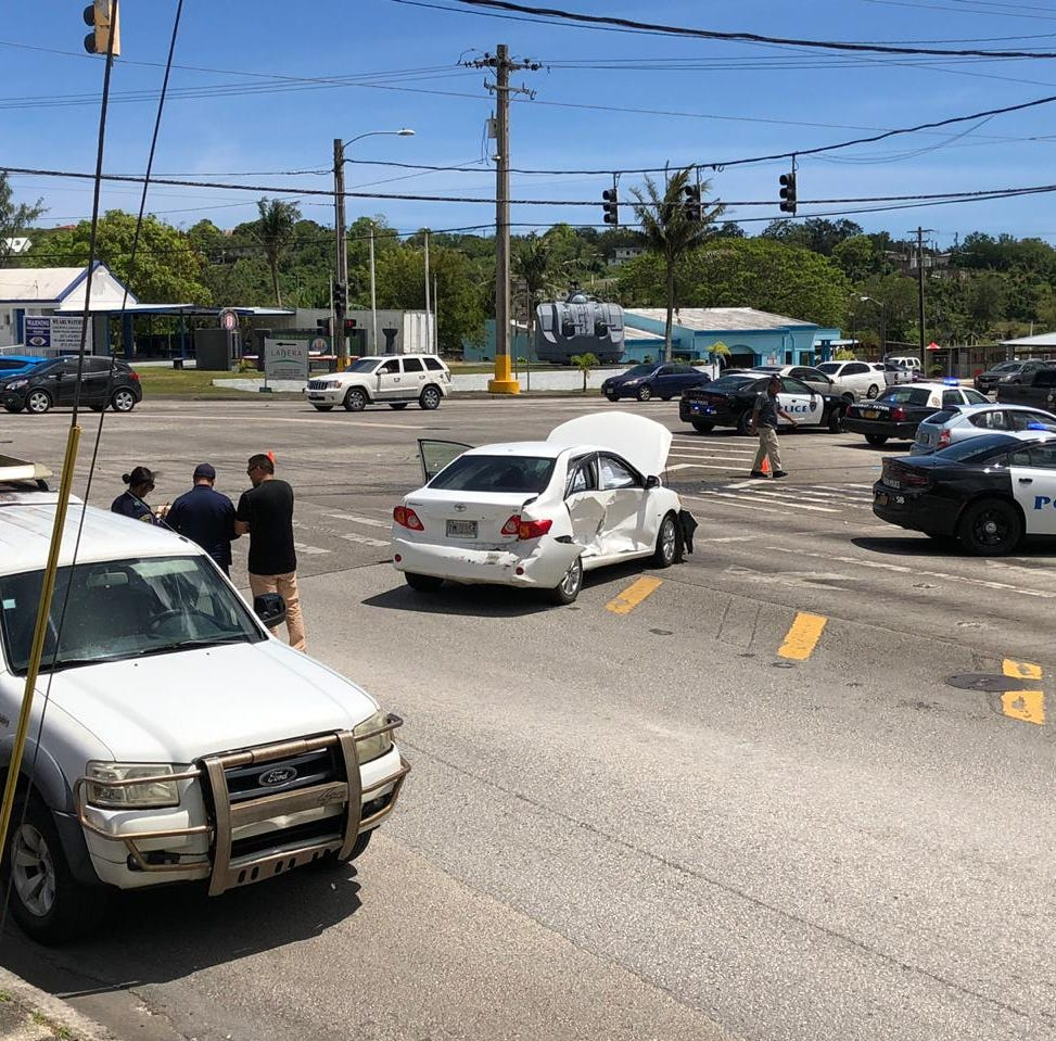 Woman, 67, dead after three-vehicle crash in Mangilao