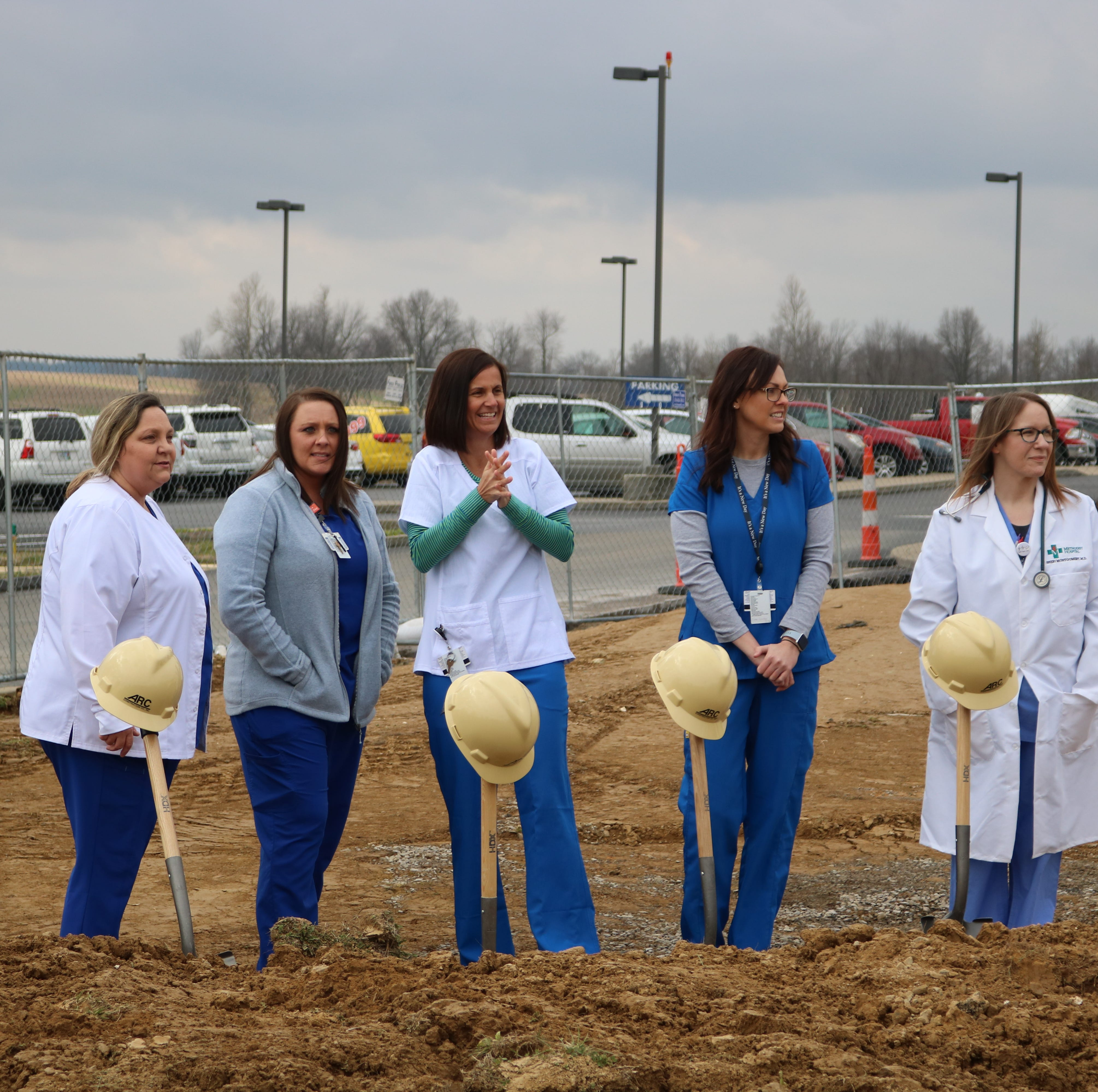 Union County Methodist Hospital breaks ground for new emergency department
