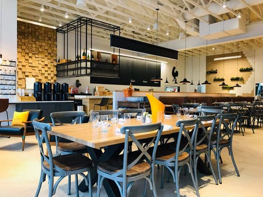 Bright light fills the dining room at Caffe Boundi, a new restaurant in Carmel that serves Italian-style breakfast, brunch and lunch.