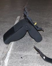 A car seat found in  Noblesville that is part of a police investigation