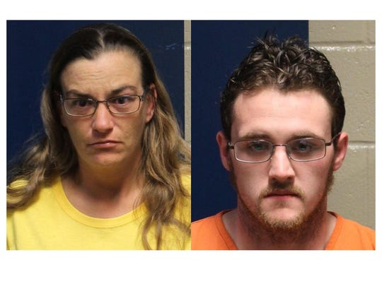 Elaina White, left, ischarged with one count of Criminal Responsibility for First Degree Murder and one count of Conspiracy to Commit First Degree Murder. Christopher Mailhot, right, ischarged with one count of First Degree Murder and one count of Conspiracy to Commit First Degree Murder.