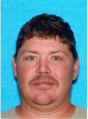 Jeremy Harvey, 41, is wanted by the U.S. Marshals in connection to the February burglary of a Hardin County volunteer fire station.
