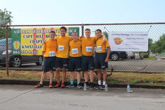 The Fulton High School JROTC running team were the victors at the 2018 Veterans Heritage Run.