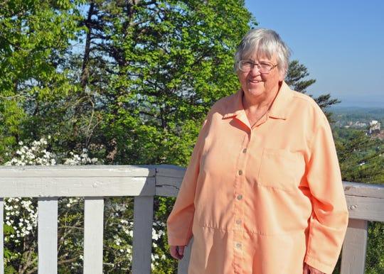"Marilyn Childress, Vietnam era Navy vet, considers the park ""a jewel for the public."""