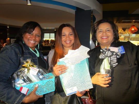 Lisa George, Sherri Keyes and Kimberly Dural