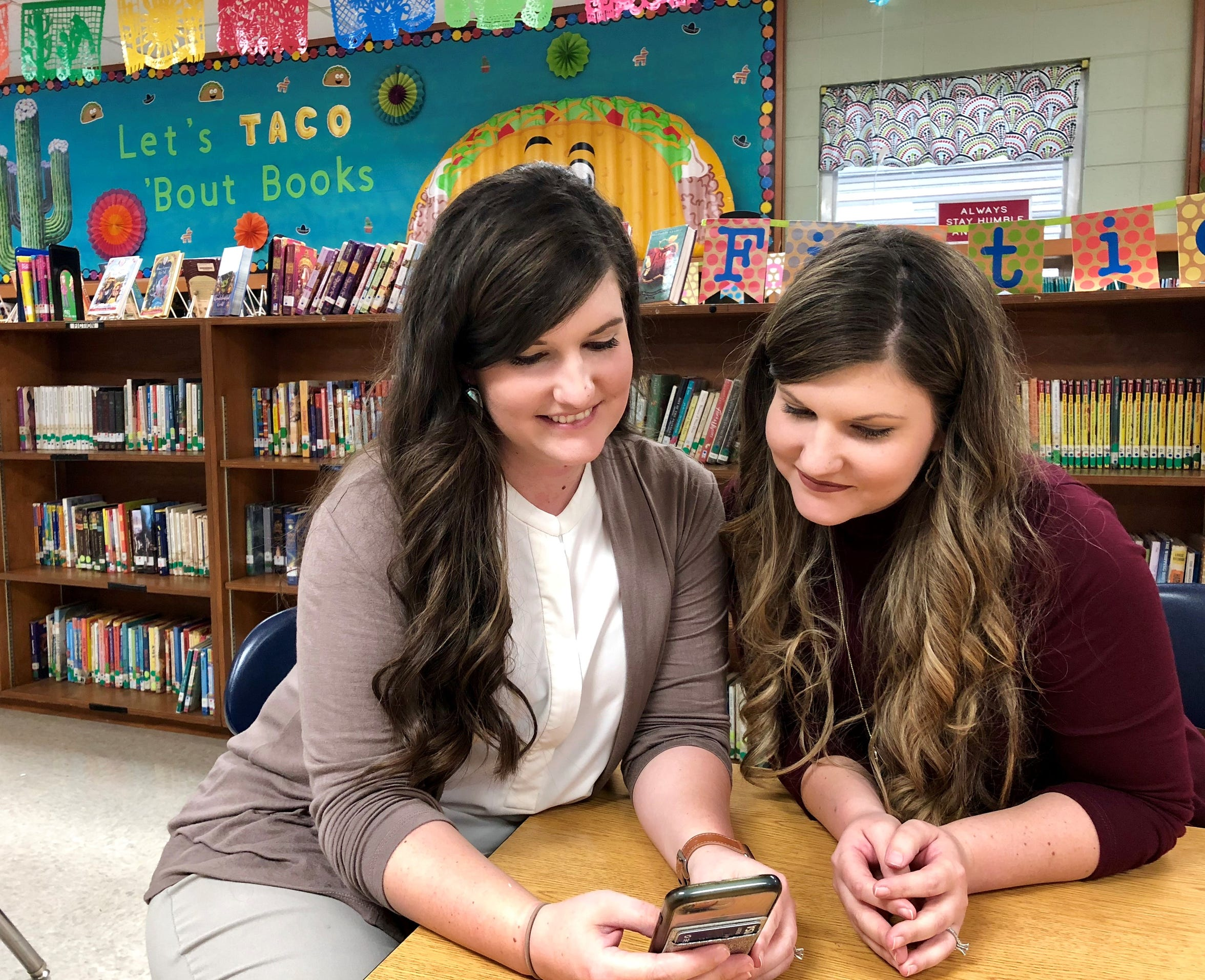 Twin sisters Megan Mercado and Taylor Wallace teach gifted at Woodvale Elementary School in Lafayette, Louisiana, their alma mater. They run an Instagram account and Facebook page called Double Duty Teachers to share tips, projects and other teaching experiences.