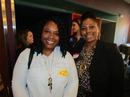 Chantell Jenkins and Kem Dural