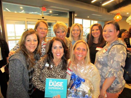 Front: Jan Janice, Rachel Thomas and Jane Lanne. Back: Dawn richard, Stephanie Johnson, Paige Griffith, Andrea Lormand and Layna Kaye Thibodeaux