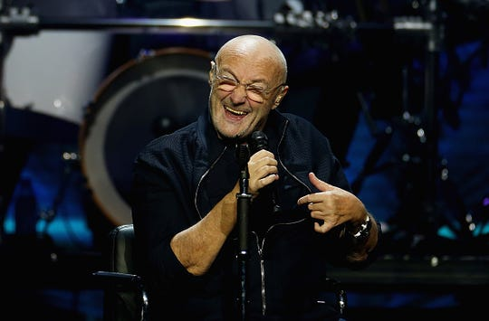Phil Collins is coming to the KFC Yum Center Oct 9, 2019
