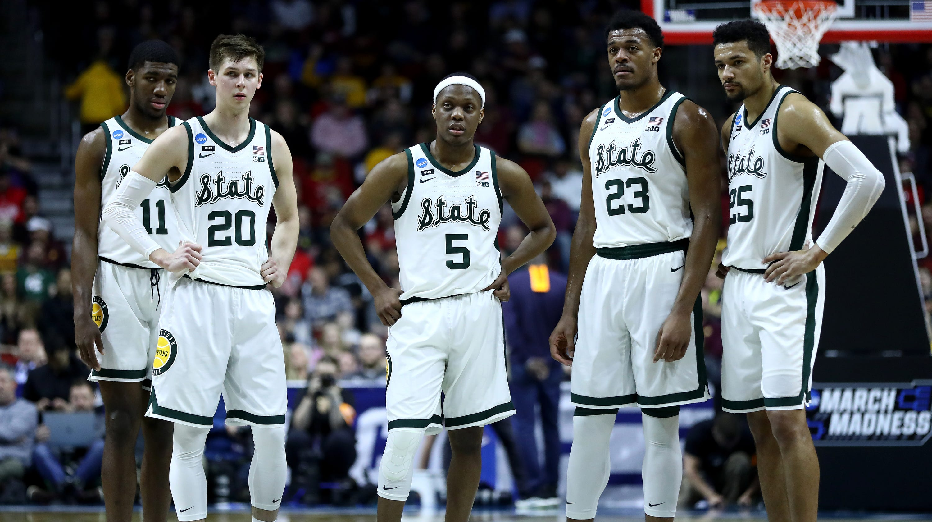 17a11f8957b71e How Michigan State basketball made Sweet 16 with small rotation