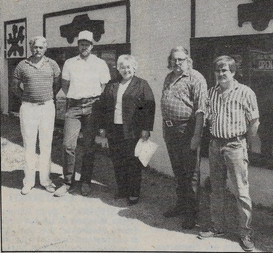 Mishicot Auto Sales & Service staff in 1988.