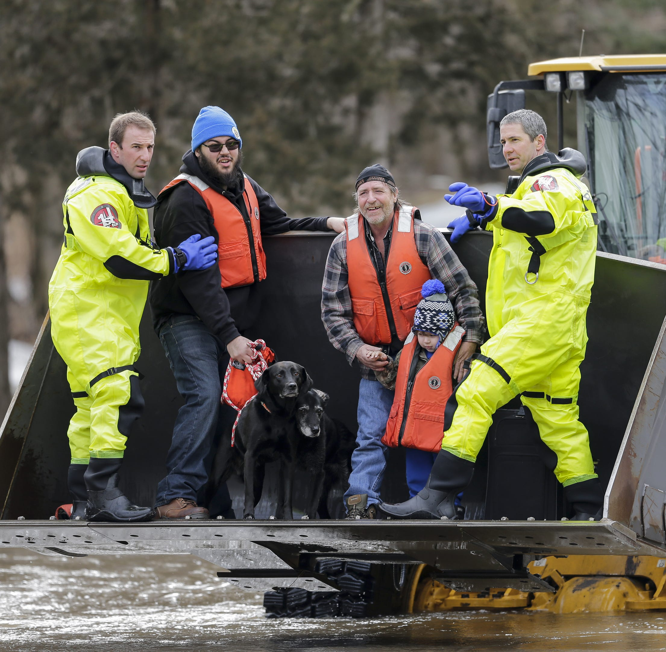 Manitowoc flood: Rapids Road reopens as water recedes