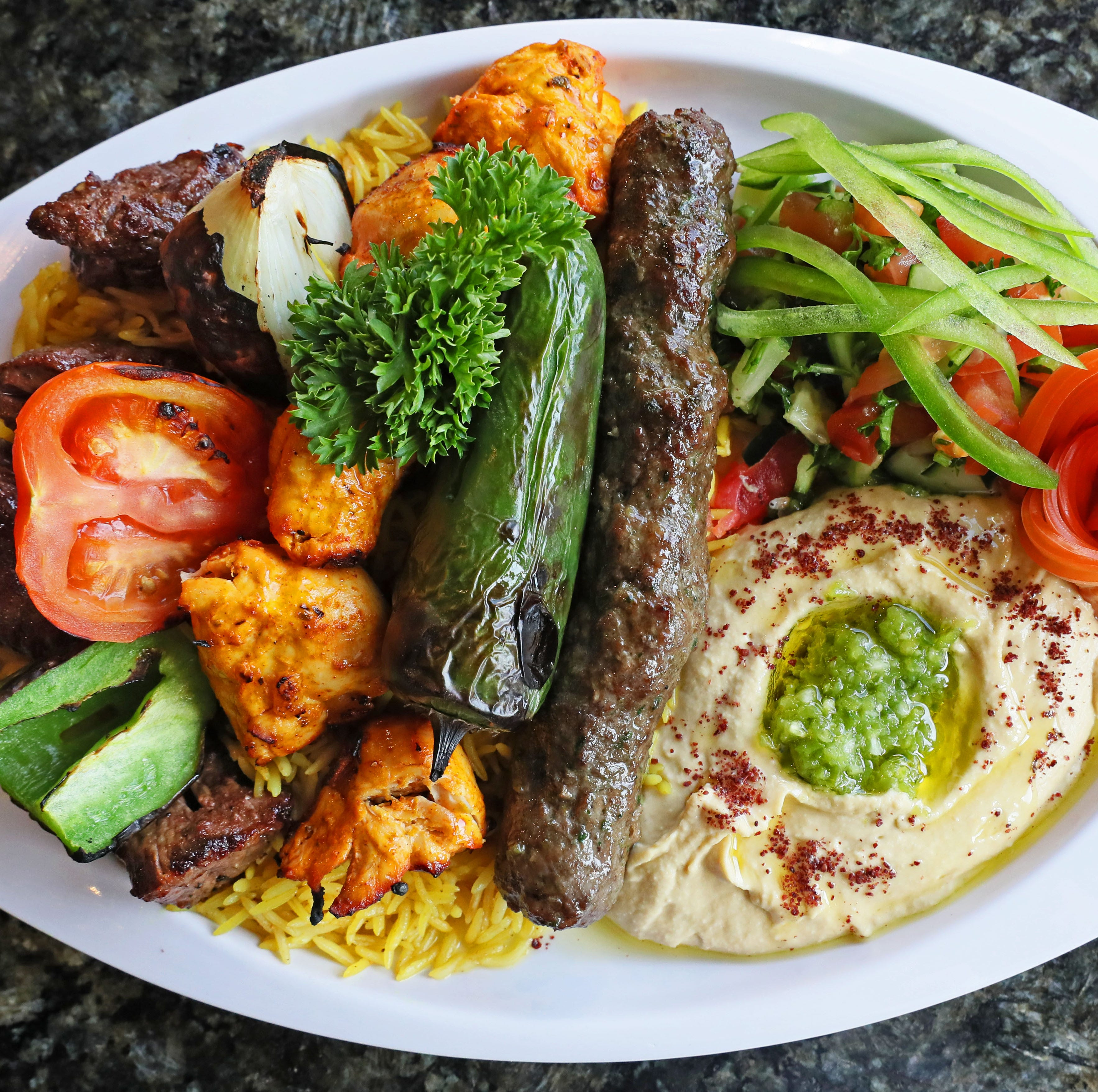 At Pita Palace and Damascus Gate, wholesome and delicious meet in Middle Eastern food