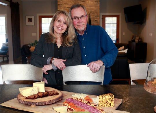 Homeowners Laura and Kurt Goranson.