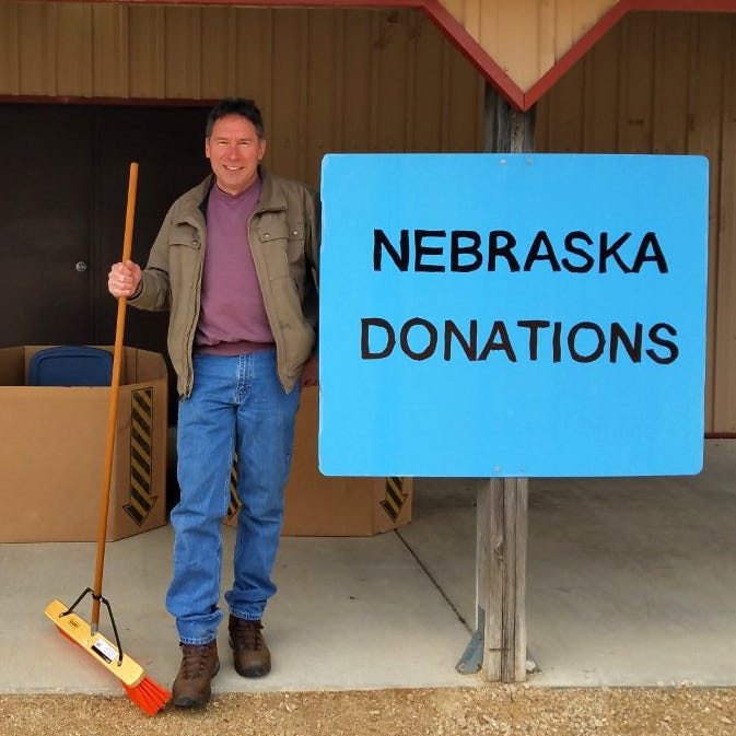 Wisconsin farmer recruits 'Badger army' to help flood-stricken Nebraska farmers