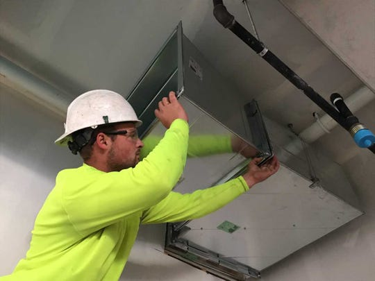 Jacob Kujac works for Southport Engineered Systems Inc., based in Caledonia, a full-service HVAC and plumbing design company.