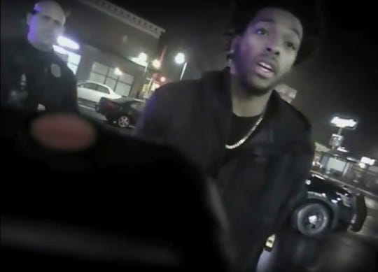 Police body-camera footage released by Milwaukee Police Department shows NBA Bucks guard Sterling Brown as he talks to arresting police officers after being shot by a stun gun in a Walgreens parking lot in Milwaukee.