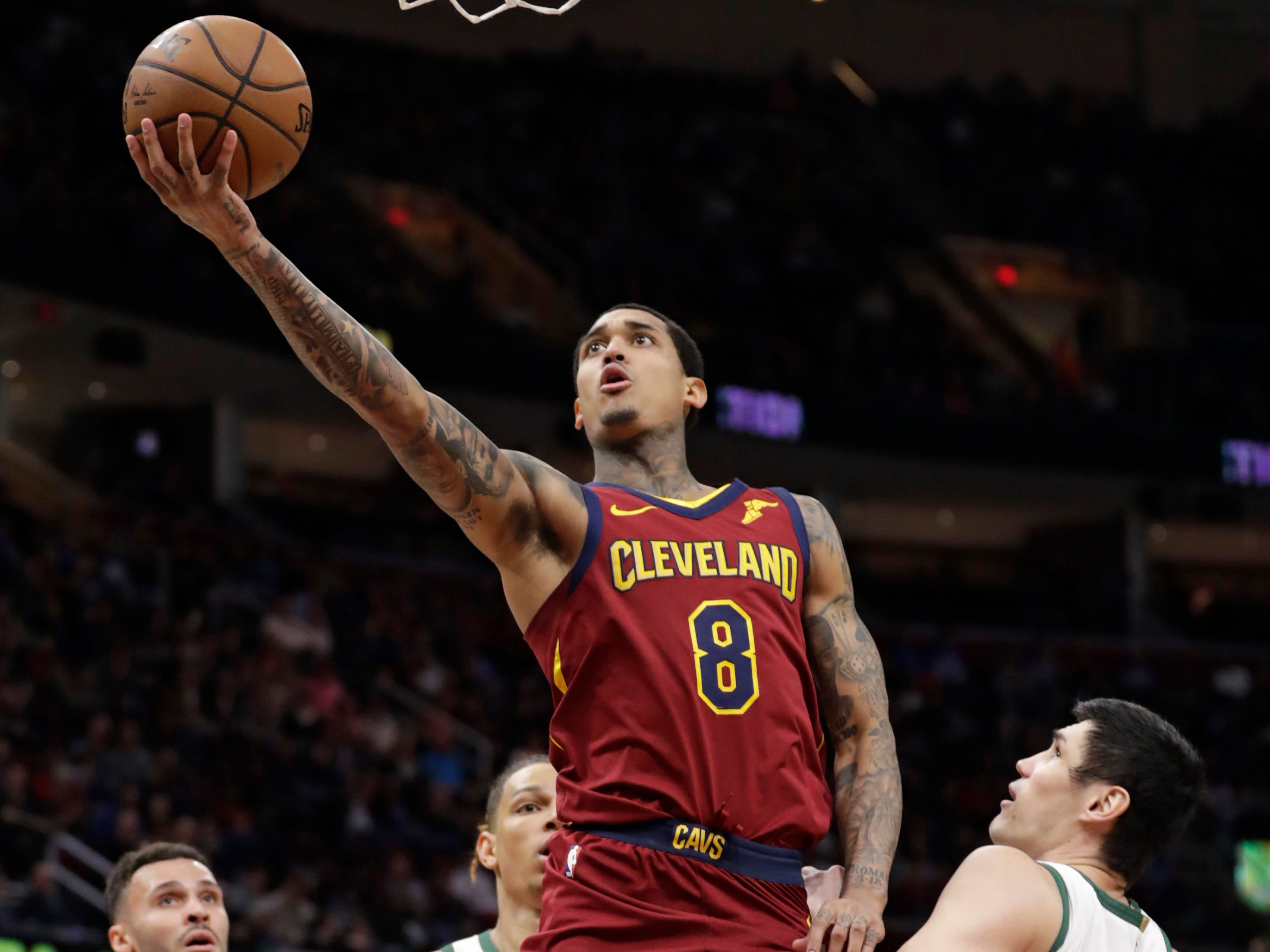 Jordan Clarkson was a thorn in the Bucks' side Wednesday night as he came off the bench for a 23-point effort for the Cavaliers.