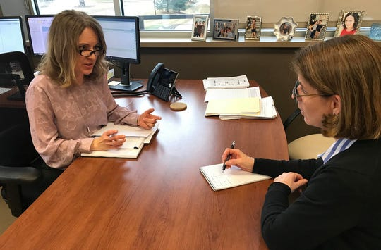 Sarah Ocampo, director of operations, and Kate Horvath, personal insurance adviser, discuss next quarter's goals for the team. Vizance is a privately held company that provides risk management, business insurance, employee benefits, personal insurance and financial service solutions to companies, families and individuals throughout Wisconsin.