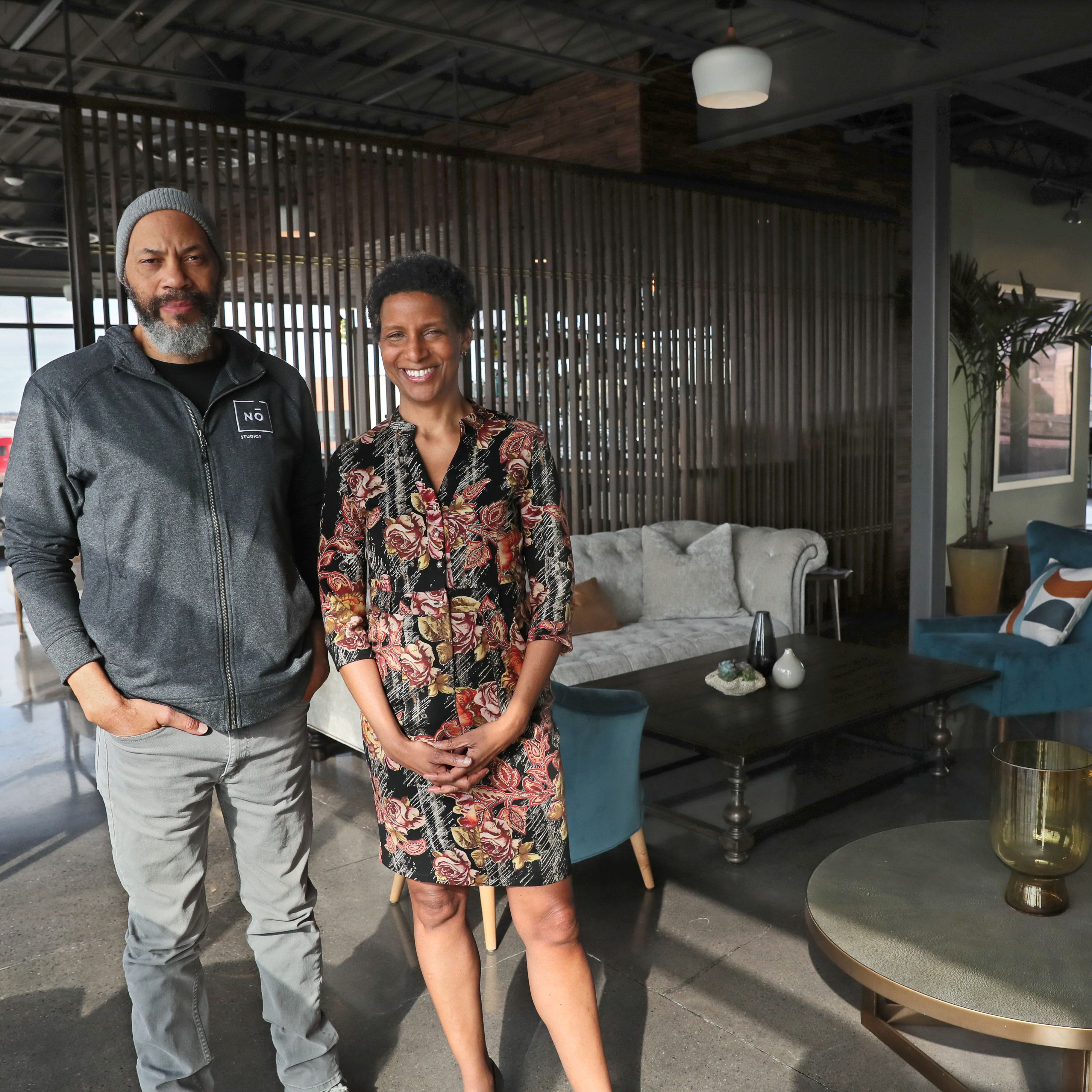 Milwaukee's No Studios was filmmaker John Ridley's idea -- but his investment banker sister runs the show