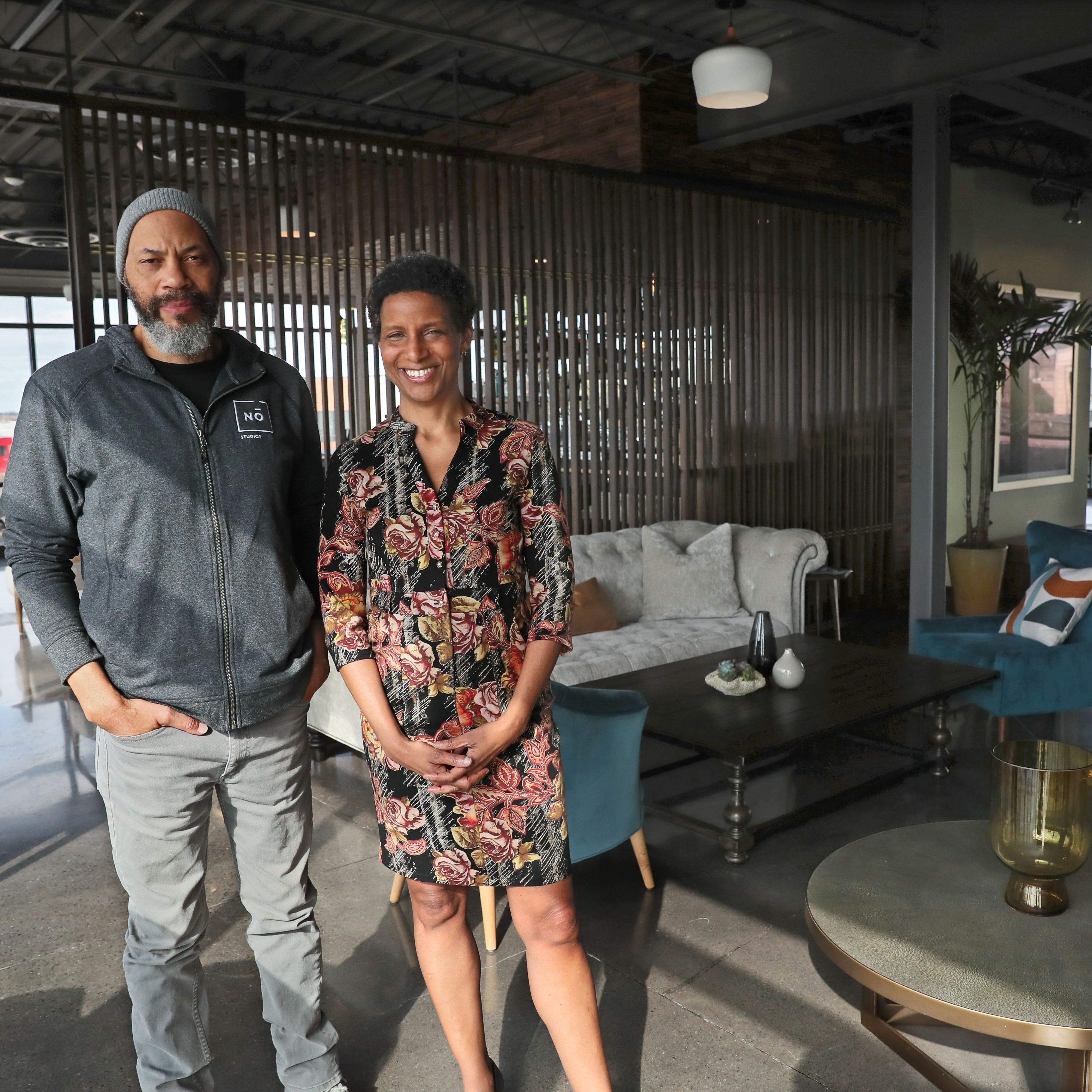 Milwaukee's No Studios was filmmaker John Ridley's idea -- but his investment banker sister runs the show