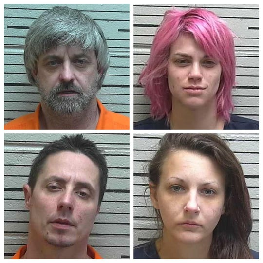Clockwise from top left: Anthony Cook, Emily Fletcher, Christina Odom and Bruce Nelson.