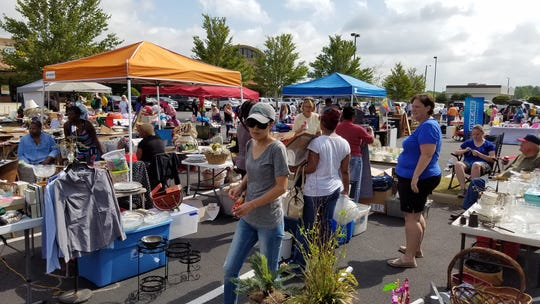 The yard sale makes for an action-packed April morning. Serious shoppers arrive early to find the best deals.Several hundred people and about 80 vendors are expected for the 2019 event that is set for April 27 from 7 a.m. to 11 a.m. at Pike Road Town Hall.