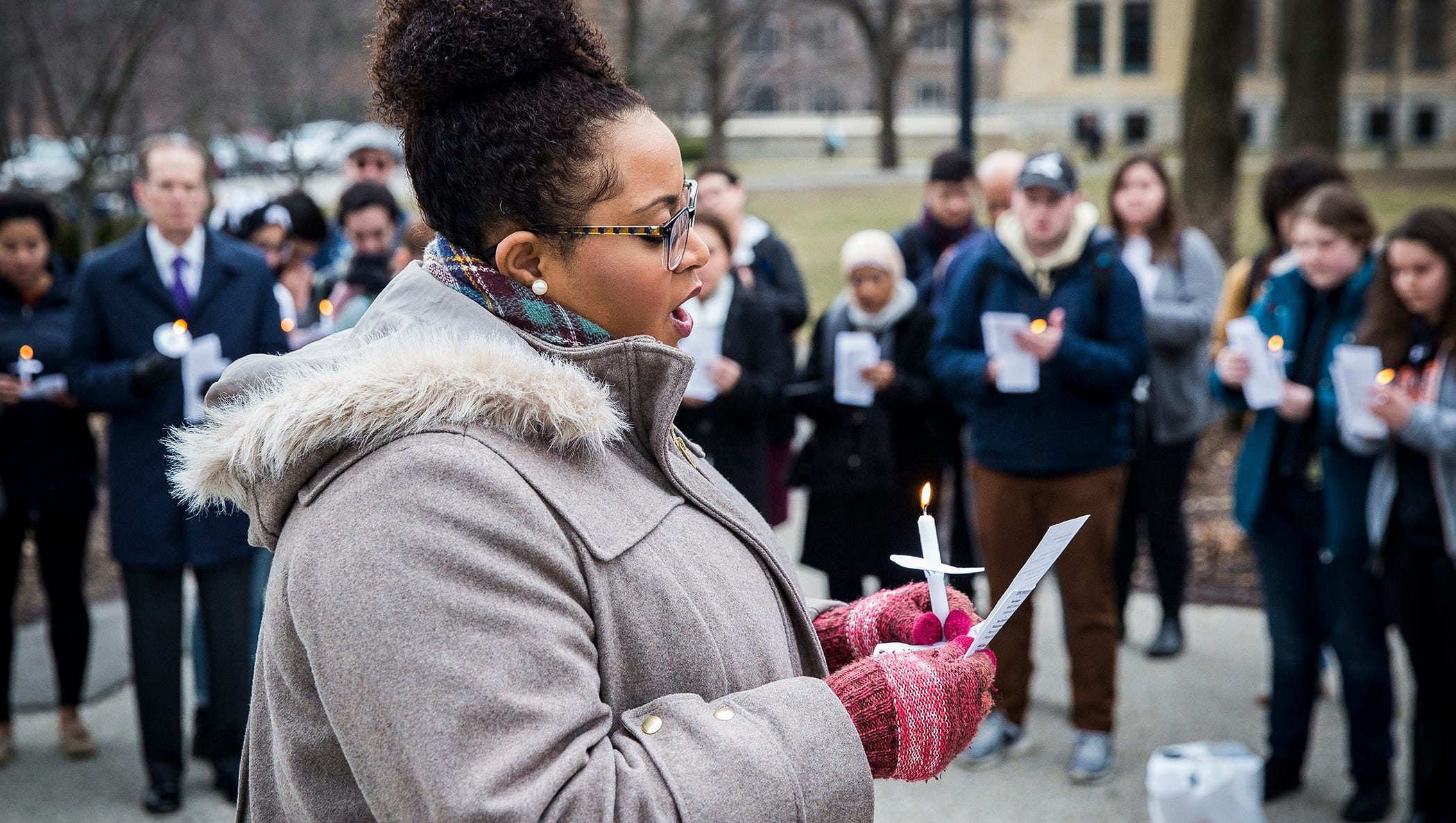 Shooting Christchurch Gallery: Ball State Holds Vigil For Christchurch Shooting Victims