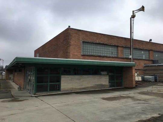 The former Riley schools looks vacant but has had one classroom occupied.