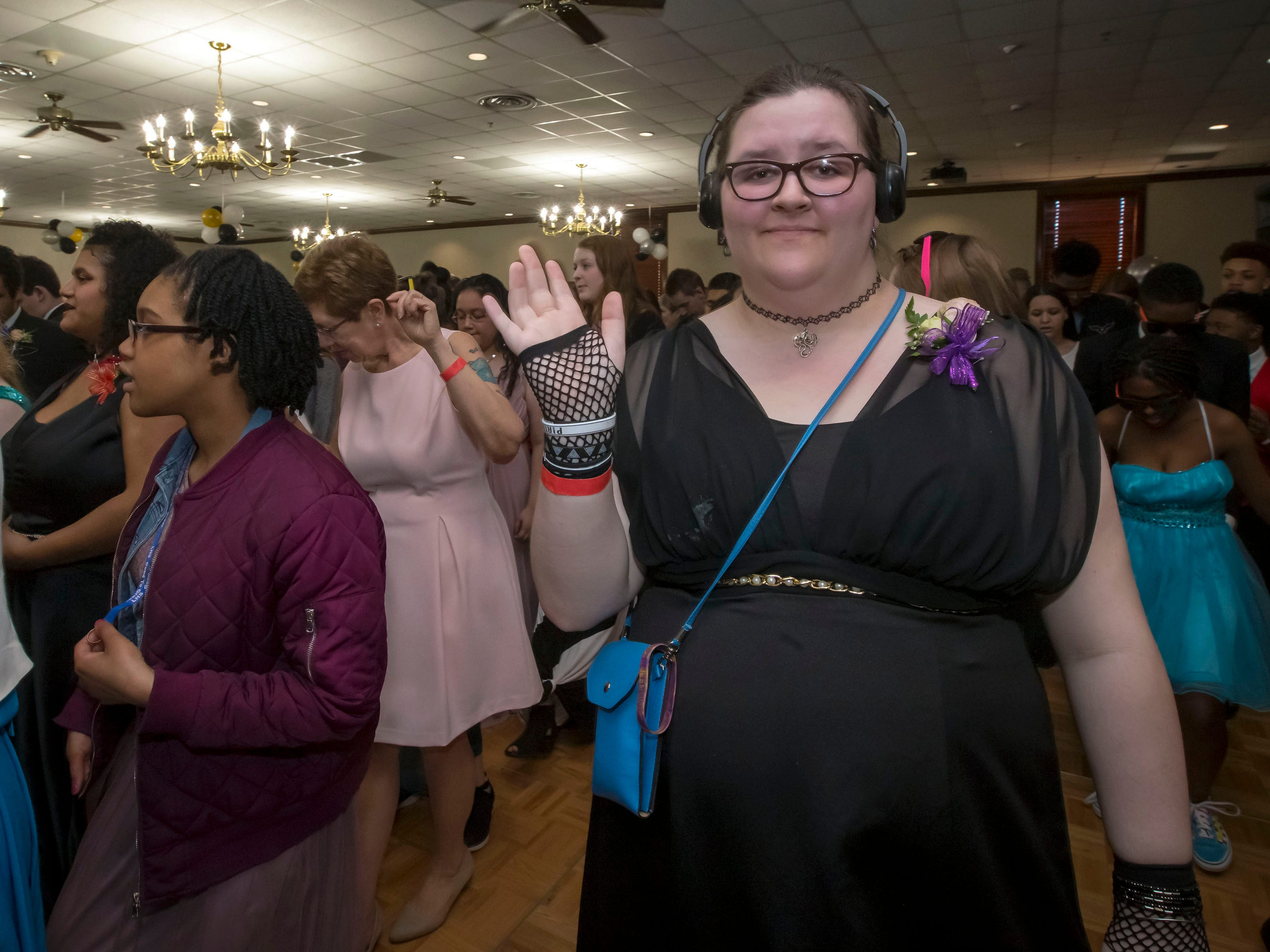 The Rutherford County Schools special needs prom held at Smyrna Event Center.