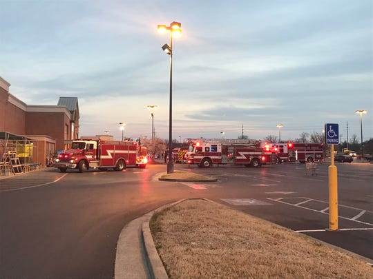 Murfreesboro Fire Rescue Department at the Kroger on 2050 Lascassas Pike on Wednesday, March 20, 2019. MFRD found nothing hazardous after the store was evacuated when people complained about feeling ill.