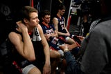 Belmont's Nick Muszynski and Dylan Windler speak about their loss to Maryland