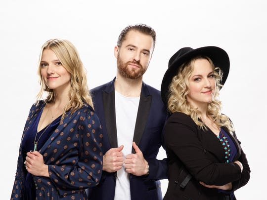 "The Bundys are the first-ever trio on ""The Voice."""